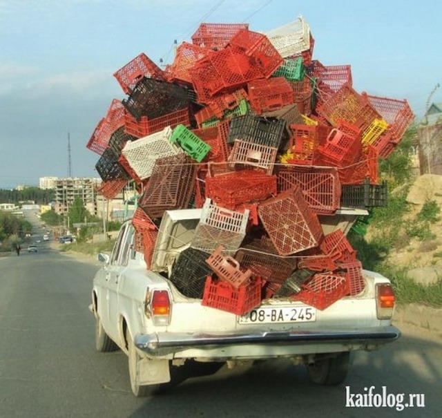 Прикольные перевозки (50 фото)
