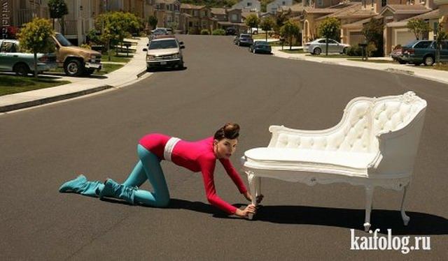 Приколы про отвязных девушек (20 фото)