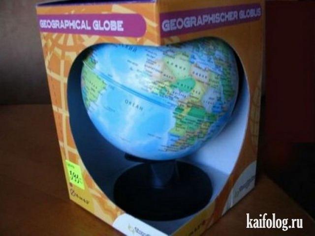 Веселый китайский глобус (8 фото)