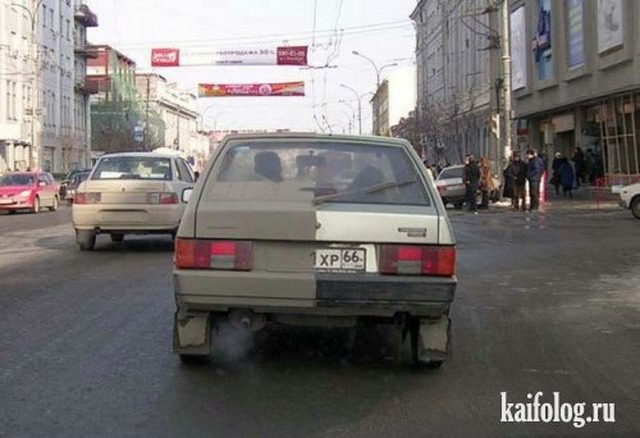 Автомобильные маразмы (50 фото)