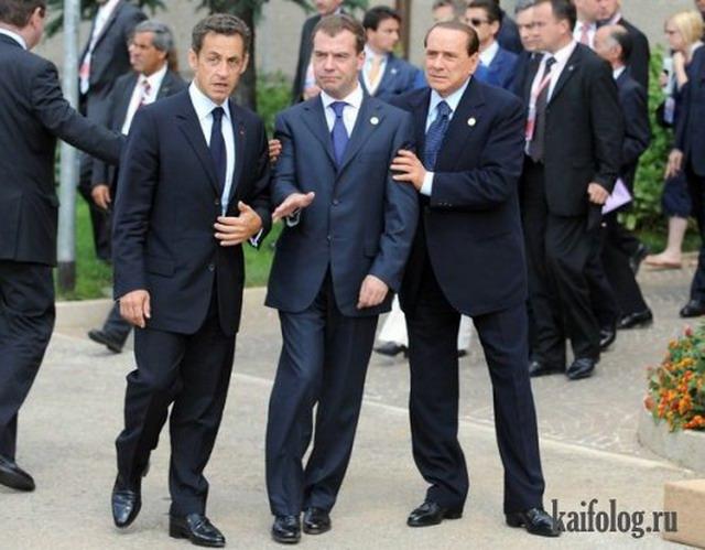 Прикольные политики (65 фото)