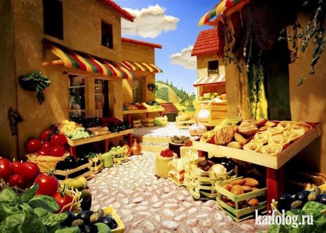 Вкусная страна (15 картинок)