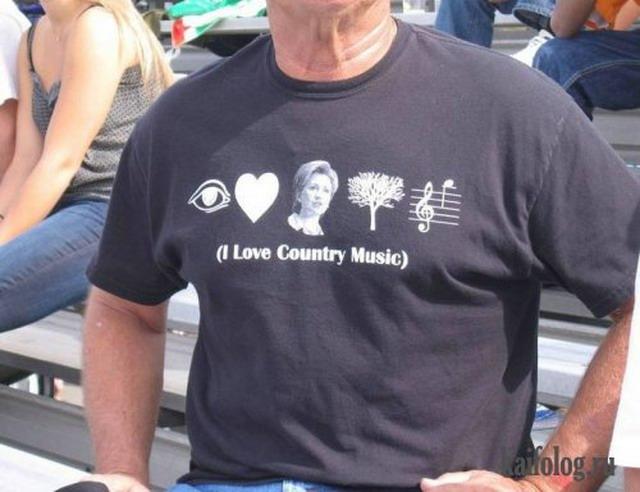 Прикольные надписи на футболках (25 фото)