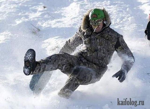 Зимние приколы (50 фото)