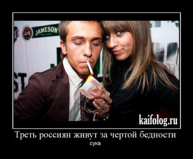 Чисто русские демотиваторы 2010 (120 фото)