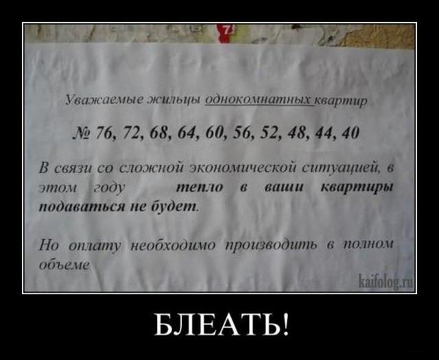 Чисто русские демотиваторы-41 (50 фото)