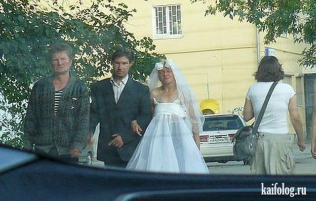 Самые прикольные свадьбы 2010 года (60 фото)