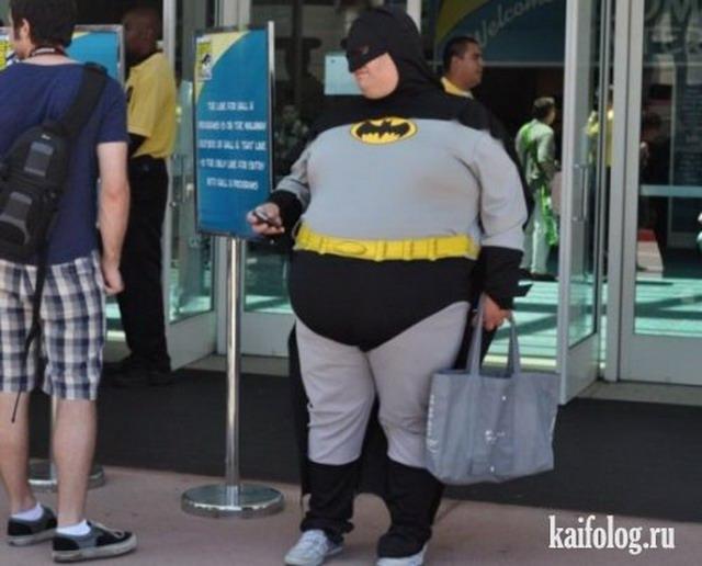 Batman повсюду (35 фото)