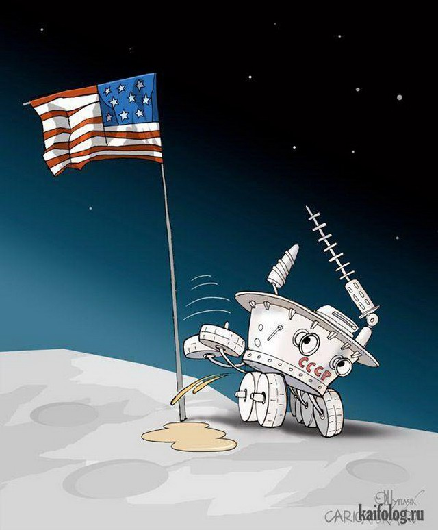 смешные картинки про полеты в космос добрым