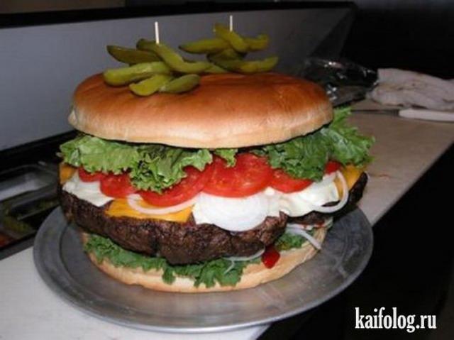 Вкусно жрать или приколы про еду. Часть-2 (40 фото)