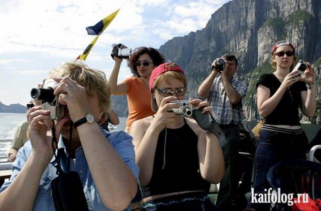 Приколы про туристов (50 фото)
