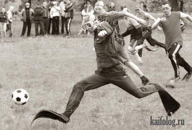 Дебильные виды спорта (35 фото)