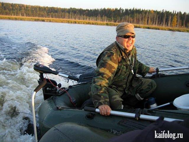 приколы на охоте и рыбалке видео подряд