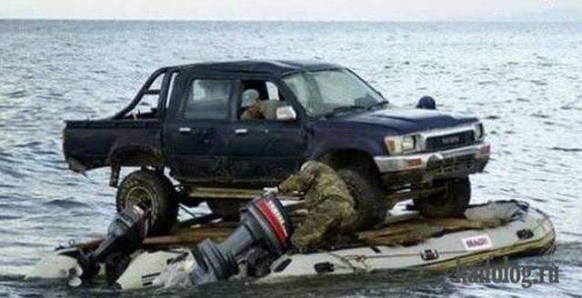 на рыбалку на машине екатеринбург