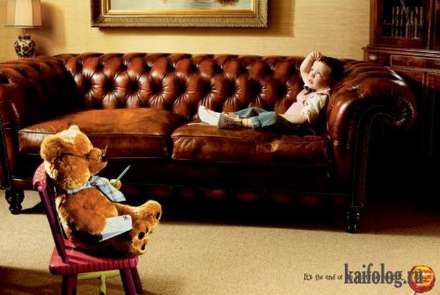 Креативная и прикольная реклама (25 фото)