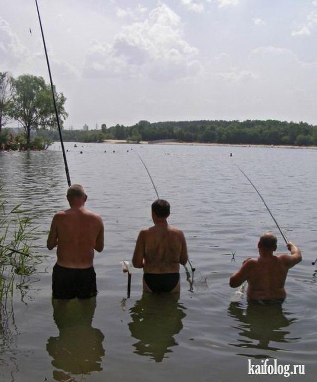 Приколы про рыбалку. Часть - 3 (50 фото)