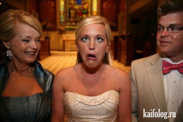Свадебные фотоприколы (45 фото)