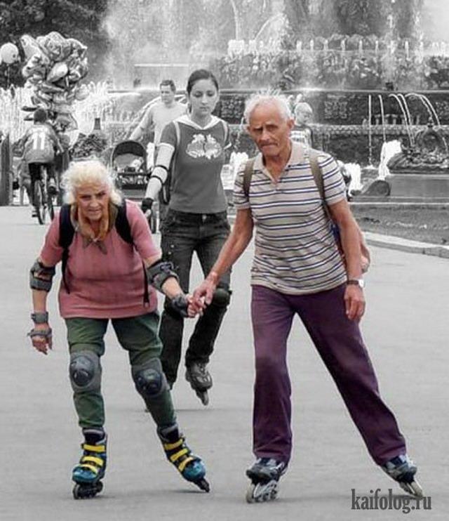 Старики жгут (30 фото)