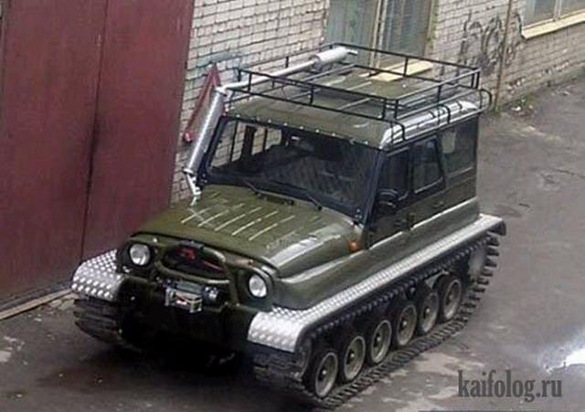 русские переделанные авто фото