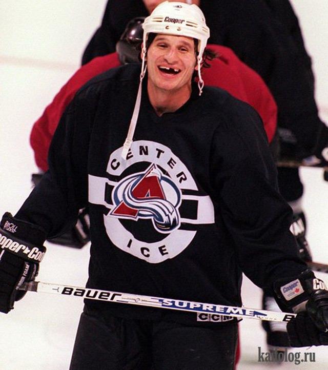 Фото хоккеистов без зубов