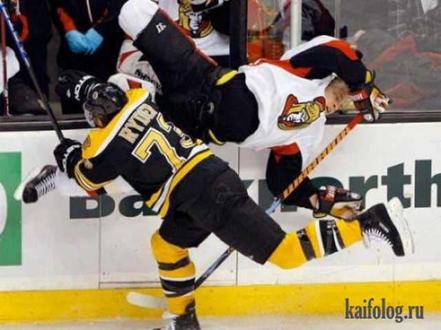 Приколы про хоккей (55 фото)
