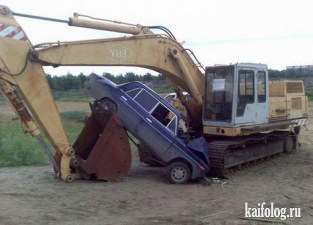 Прикольные аварии. Часть-3 (50 фото)