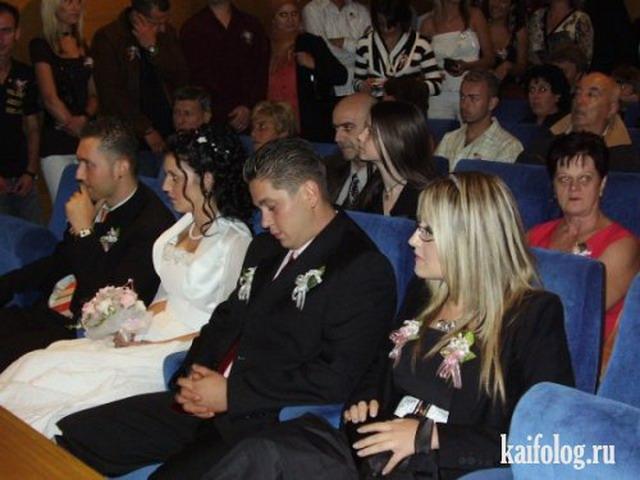Фото приколы со свадеб (50 фото)