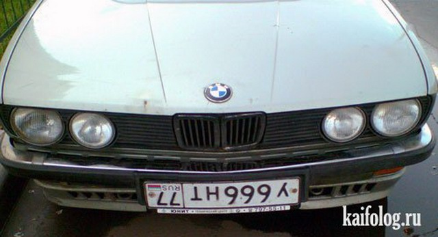 Автомобильные приколы (50 фото)
