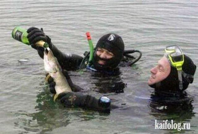 смешные фото про рыбалку и рыбаков