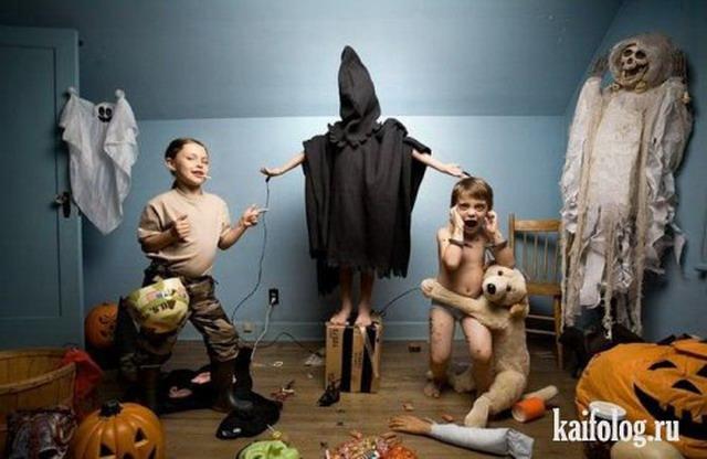 Приколы про детей (45 фото)