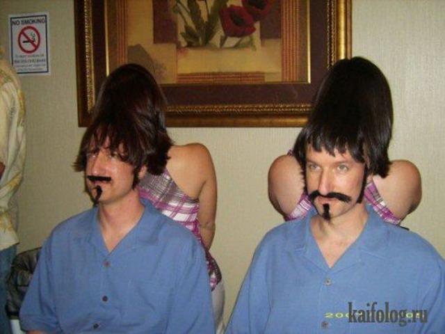 Прикольные фото близнецов (30 фото)