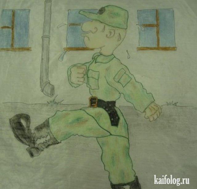 Дембельский альбом солдата (15 картинок)