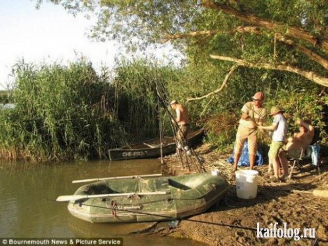 Приколы про рыбалку часть 4 50 фото