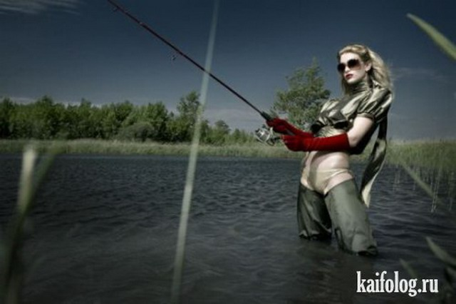 Приколы про рыбалку. Часть-4 (50 фото)