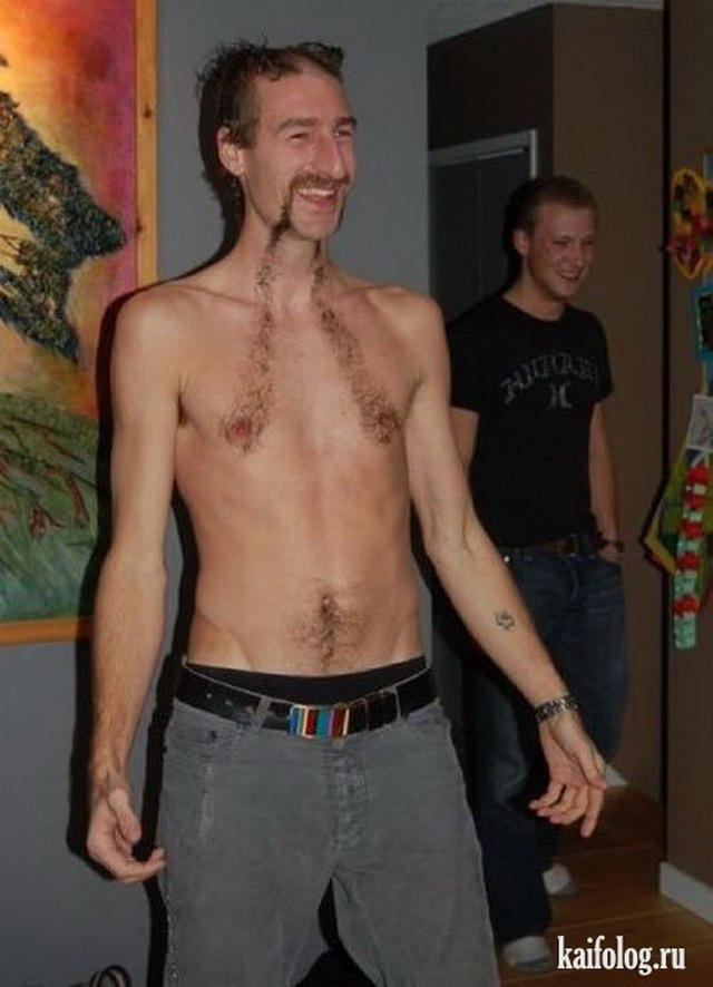 Прикольные стрижки на теле (30 фото)