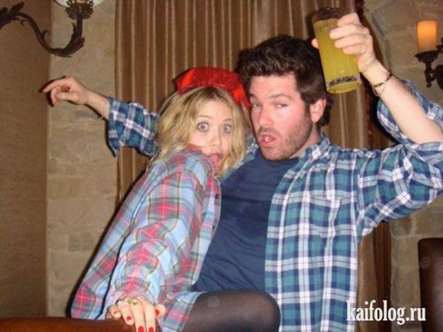 Прикольные и пьяные звезды (50 фото)