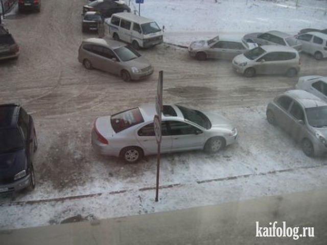 Мастера парковки. Часть-8 (50 фото + видео)