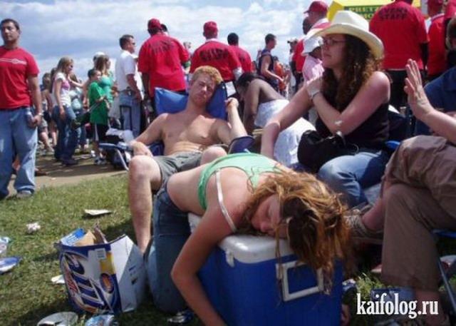Прикольные фото пьяных людей (55 фото)