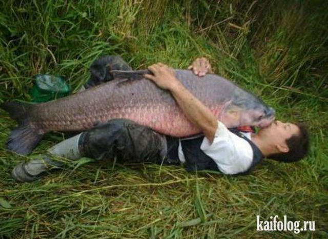 Приколы про рыбалку. Часть-5 (50 фото)