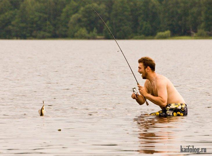 Освещение на рыбалке летом