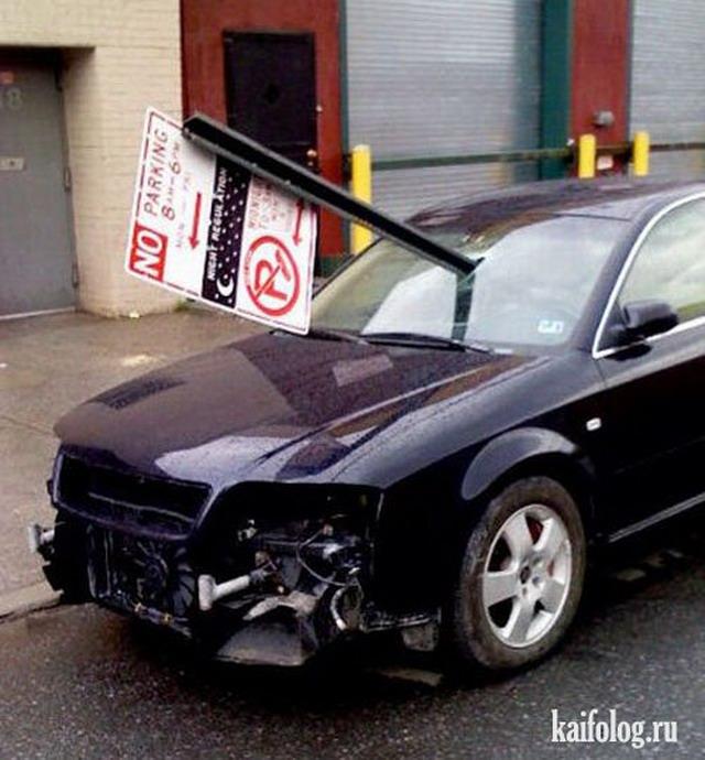 Месть автовладельцам (60 фото)