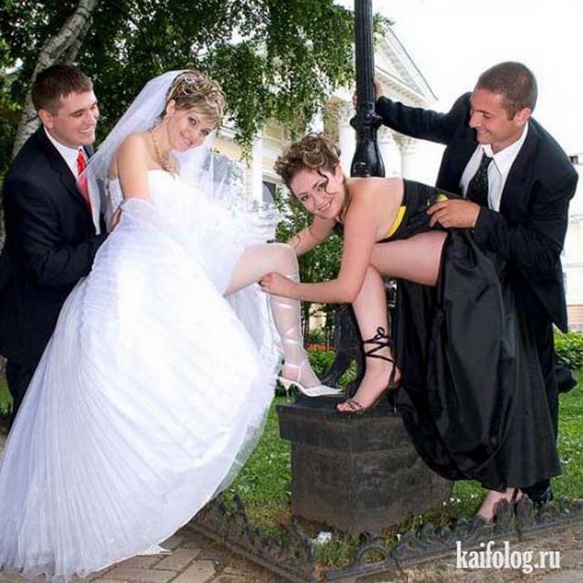Свадебные маразмы (45 фото)