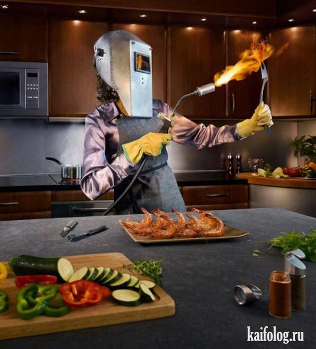 Креативная и прикольная реклама. Часть-4 (45 фото)