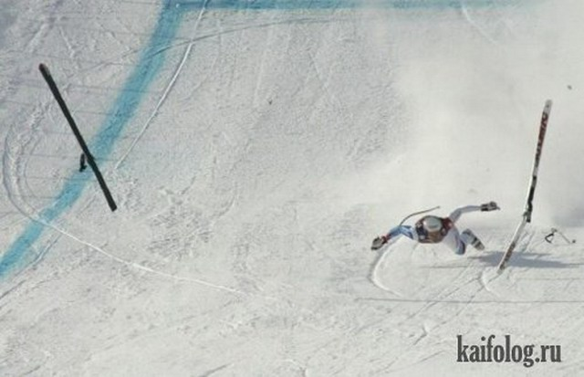 Стоп-кадры с падением (40 фото)