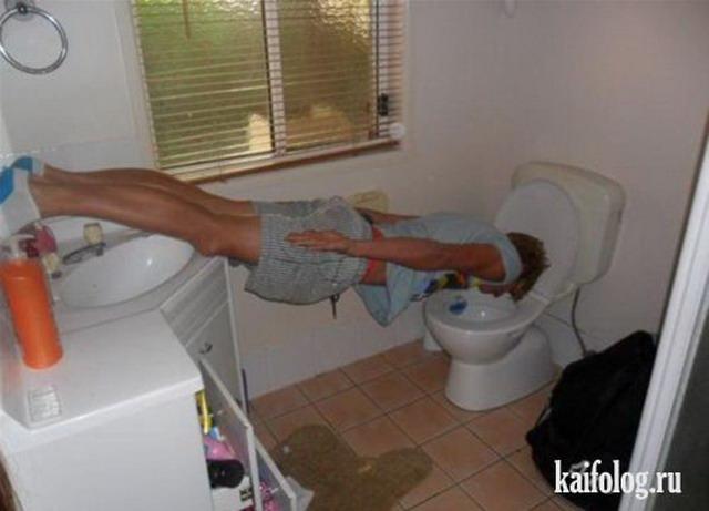Туалетный планкинг (30 фото)
