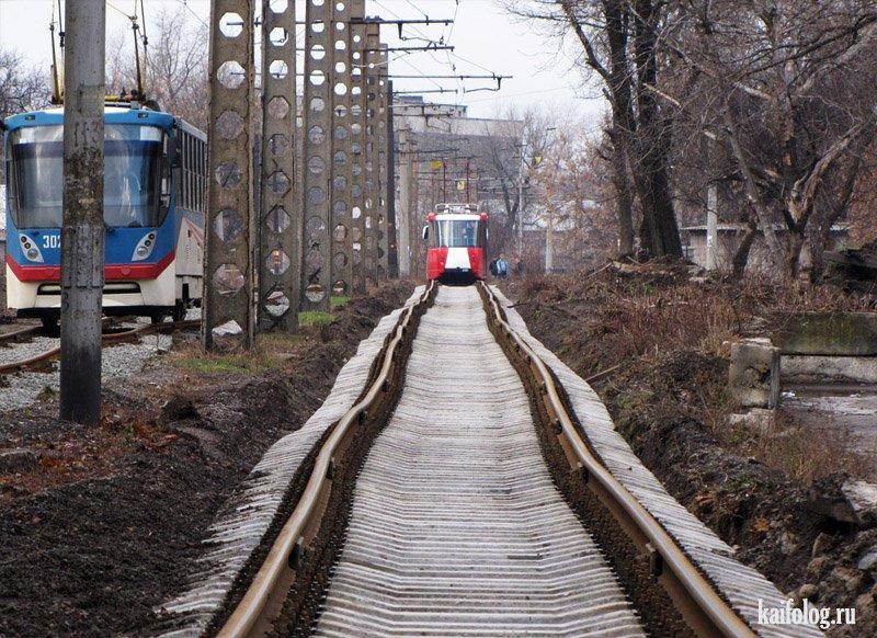 прикольные картинки про трамвай