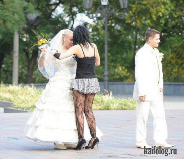 Приколы и маразмы со свадеб (50 фото)