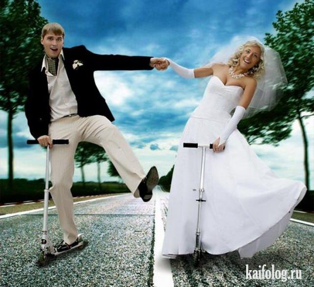 Дебильный свадебный фотошоп (50 приколов) | 586x640