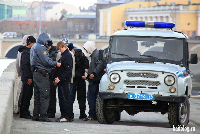 Прикольные картинки с надписями с милицией