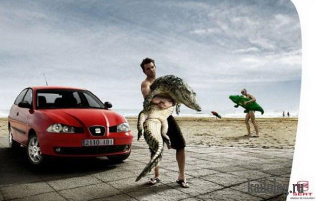 Креативная и прикольная реклама. Часть-5 (45 фото)